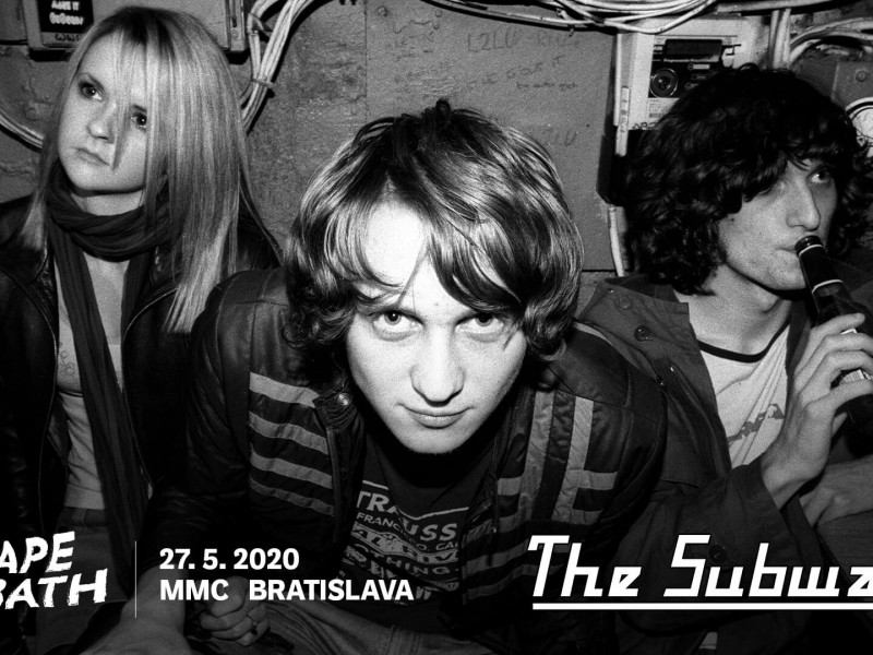 The Subways are coming back to Bratislava! ()