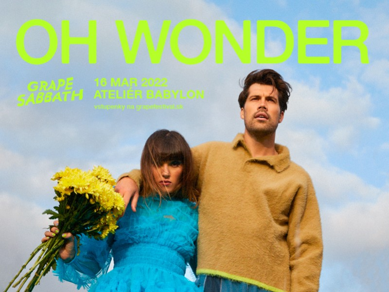 Oh Wonder in Bratislava - on a new date and with a new album ()